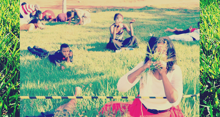 Let's eat grass!