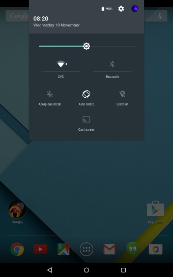 Android Lollipop Notification Settings