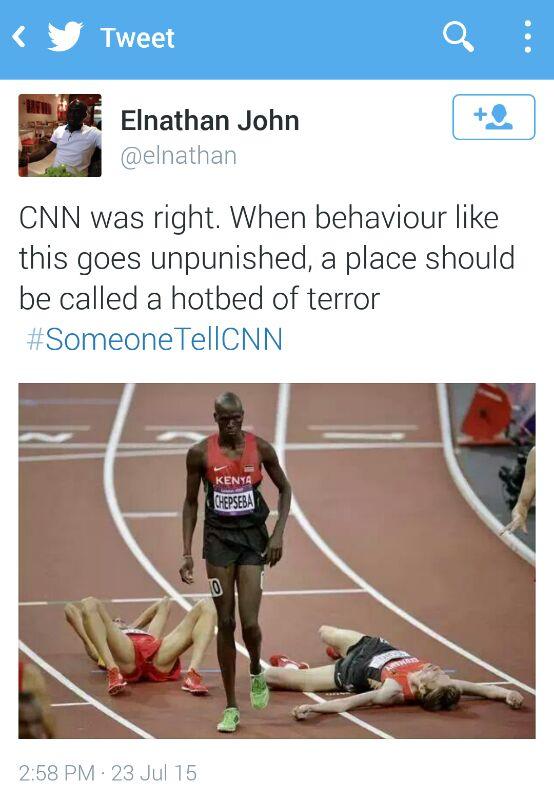 Someone tell CNN